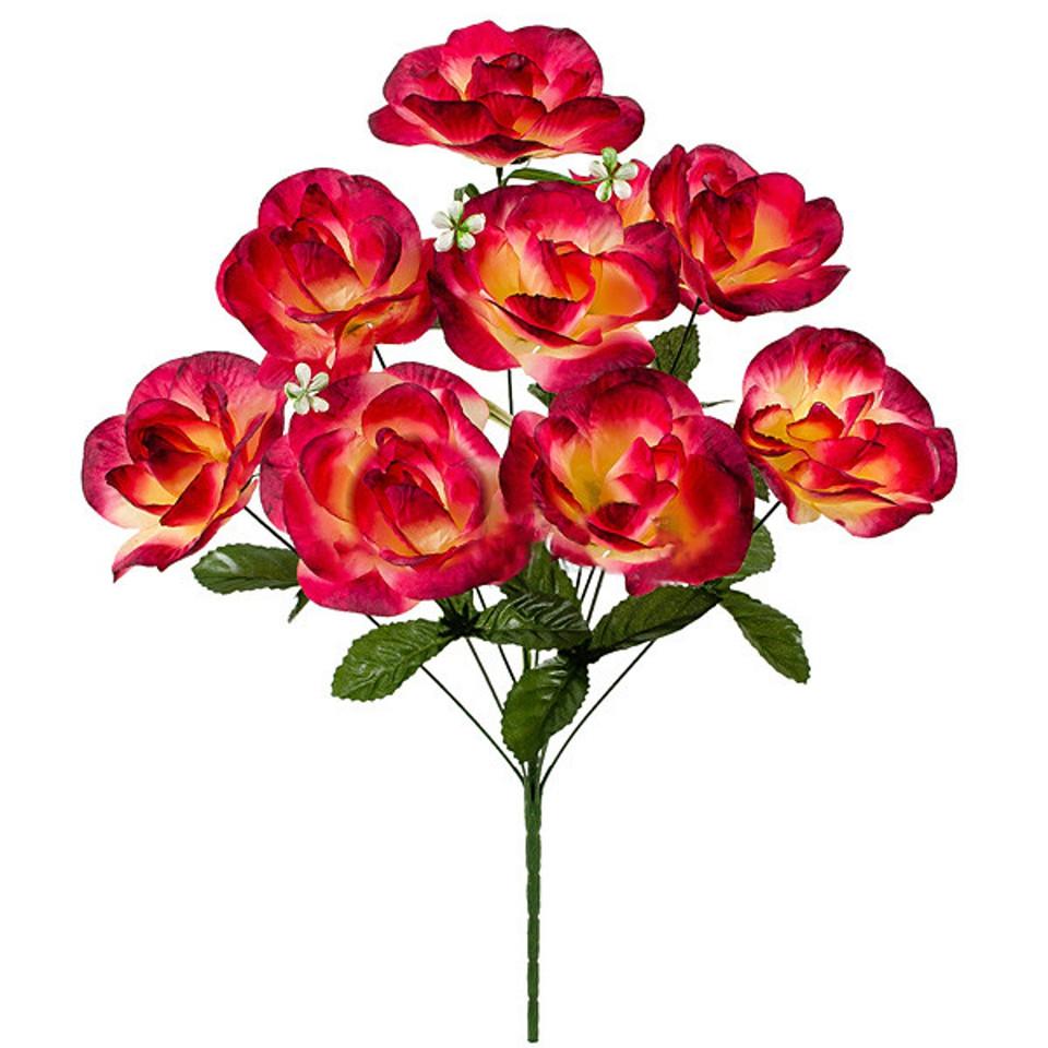 Букет искусственных роз Амели, 55см (440)