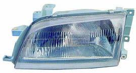 Фара левая Toyota Carina E 92-97 механическая пластмассовый рассеиватель (DEPO). 212-1147L-LD