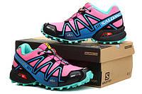 Кроссовки женские Salomon Speedcross 3 pink