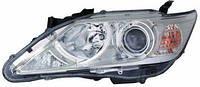 Фара левая Toyota Camry XV50 єлектрокорректор D4S/HB3/WY21W/W5W (КСЕНОН) (DEPO). 212-11T5LMLDHM