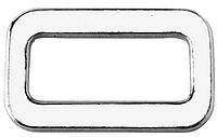 Нержавеющая пряжка без перемычки для плоских строп, шириной 50 мм