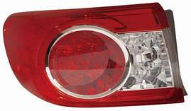 Фонарь левый Toyota Land Cruiser J100 (-05) LED внешний (пр-во DEPO). 212-19L4L-A
