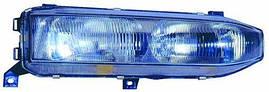 Фара правая Mitsubishi Galant 93-96 H1+H4 (DEPO). 214-1125R-LD-E