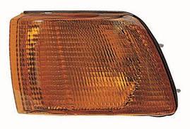 Указатель поворота левый желтый Mitsubishi Galant 88-93 одна лампа (DEPO). 214-1524L-AE-Y