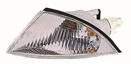 Указатель поворота левый Mitsubishi Carisma 95-99 белый (DEPO). 214-1559L-UE