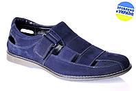 Мужские сандалии mida 13804н.син синие   летние , фото 1