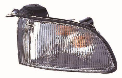 Указатель поворота левый Nissan Maxima 95-00 (прозрачный) белый (DEPO). 215-1585L-U