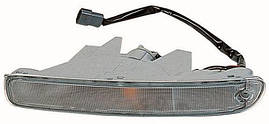 Указатель поворота левый белый в бампере Mazda 323 95-98 F (DEPO). 216-1614L-AE