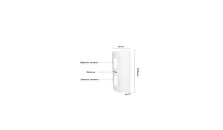 Беспроводной датчик движения с иммунитетом от животных.для сигнализации