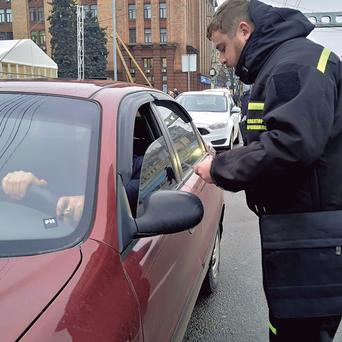 Новые штрафы за парковку в Днепре