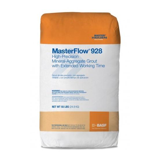 смесь бетонная сухая безусадочная быстродействующая masterflow 928 цена