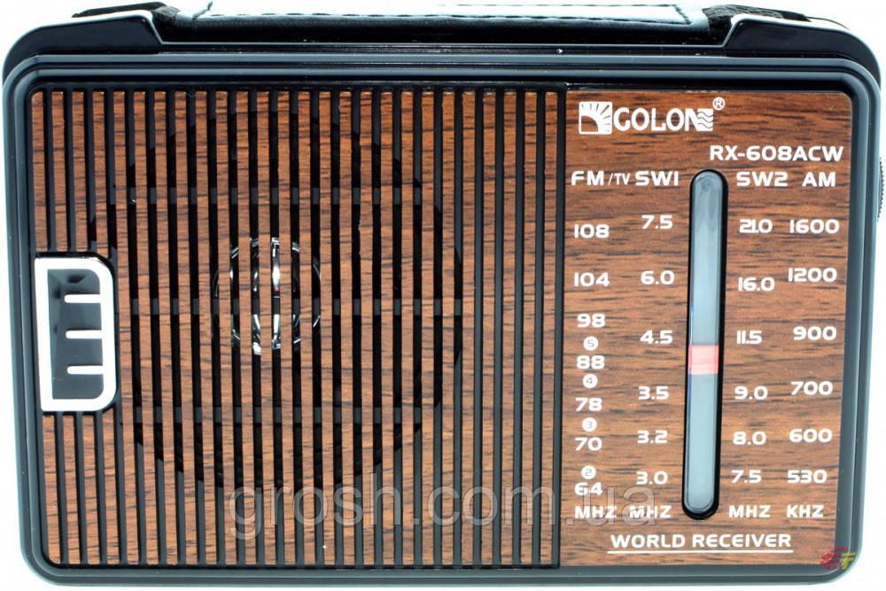 Радио Golon RX-608ACW
