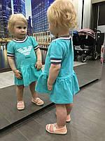Платье с оборкой, разные цвета, фото 1