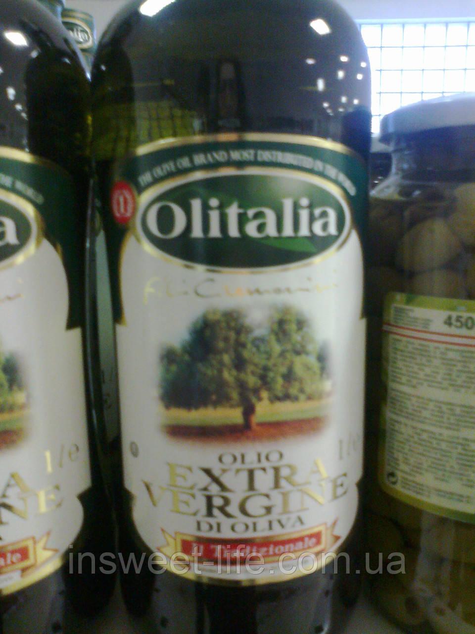 Оливкова олія Extra Virgin Pietro Coricelli 1л/флакон