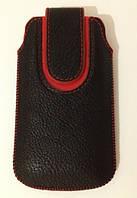 Карман LGD вертикальный красный кант S5830