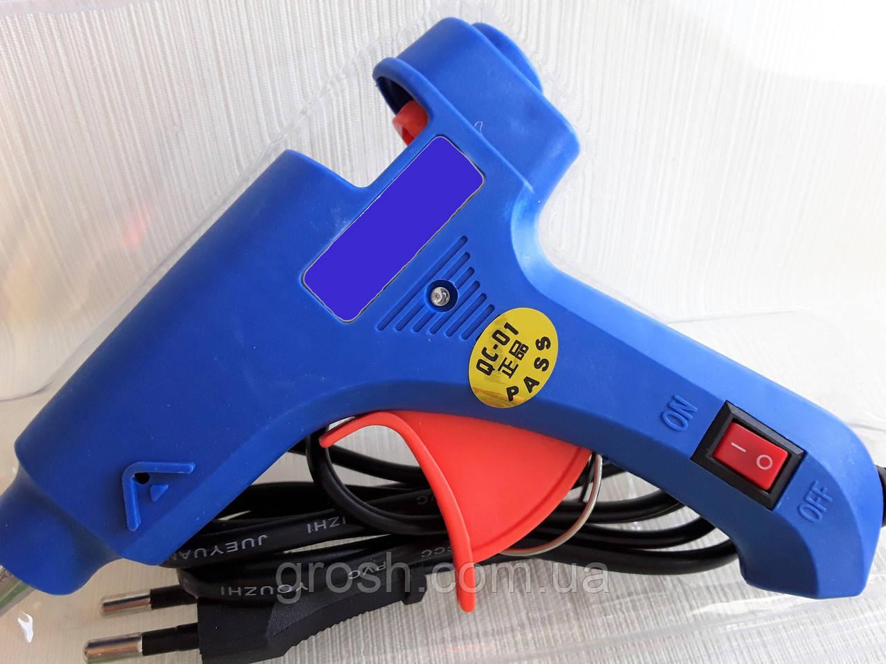 Пистолет для клея 7мм (AC110-240V 50-60Hz) 20W