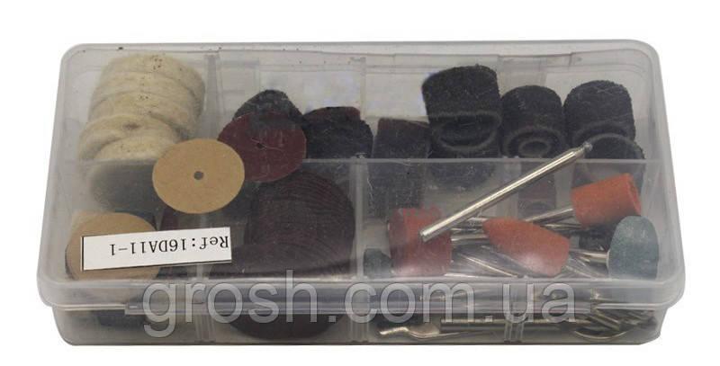 Набор аксессуаров для мини дрели и граверов (84 предмета)