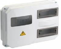 Корпус пласт. ЩУРн-П 1/12 для 1-ф счетчика навесной 270х330х110 IP55