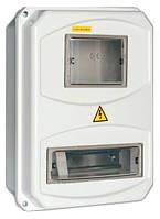 Корпус пласт. ЩУРн-П 3/6 для 3-ф счетчика навесной 400х350х125 IP55