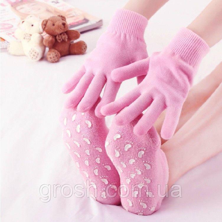 Комплект спа-перчатки и спа-носочки