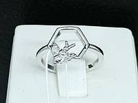 Серебряное кольцо Пчелка. Артикул КК2/1039 15,5, фото 1