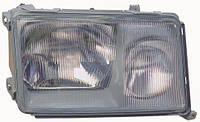 Фара левая Mercedes 124 -96 (84-89) темная рамка (DEPO). 440-1103L-LD-E