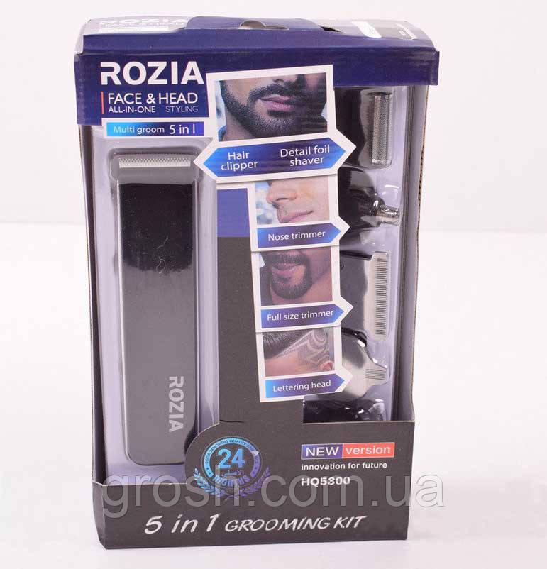 Триммер 5 в 1 Rozia HQ-5300, фото 1