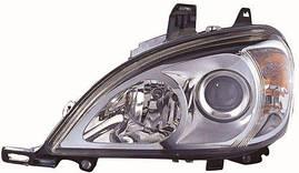 Фара правая Mercedes 163 -05 электрокорректор 02-Н7+Н7 (DEPO). 440-1149R-LD-EM