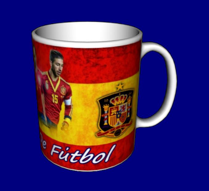 Чашка сборная Испании