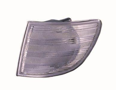 Покажчик повороту лівий Mercedes VITO -02 білий (DEPO). 440-1508L-UE-C