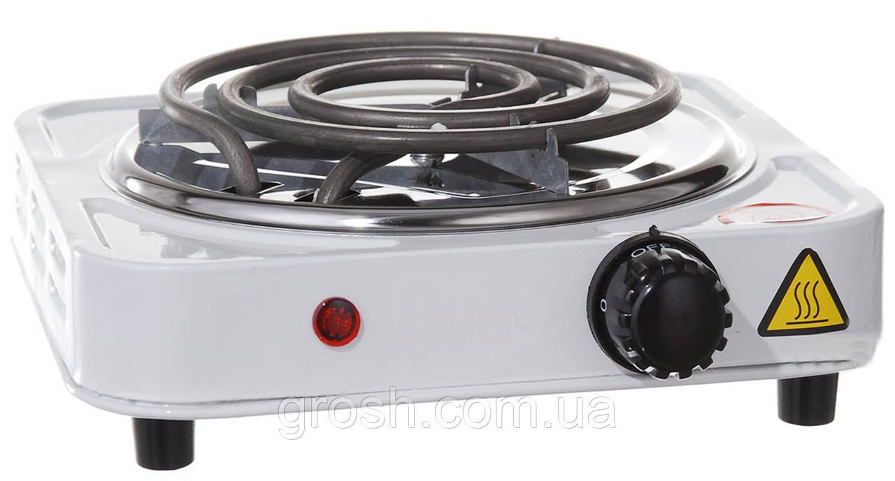Электроплита 1 конфорка (спираль)