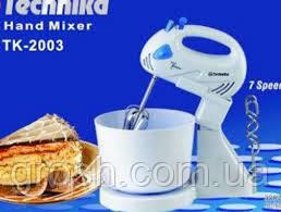 Ручной Миксер с чашей TK-2003 300 Вт