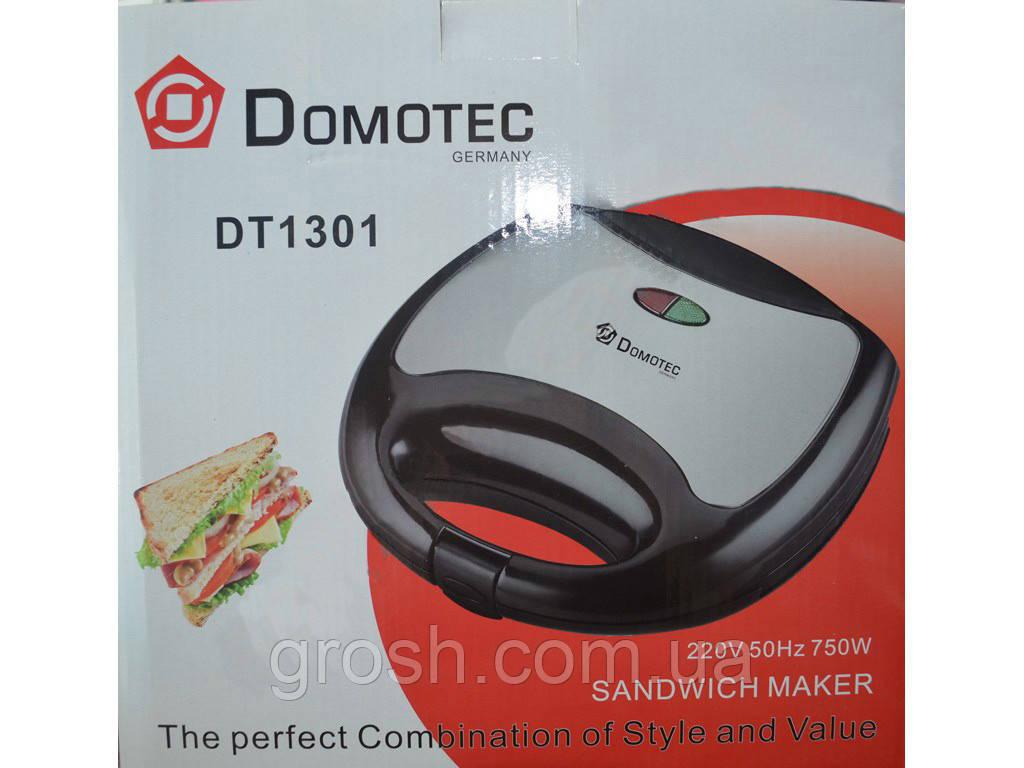 Бутербродница DOMOTEC DT-1301 750 Вт