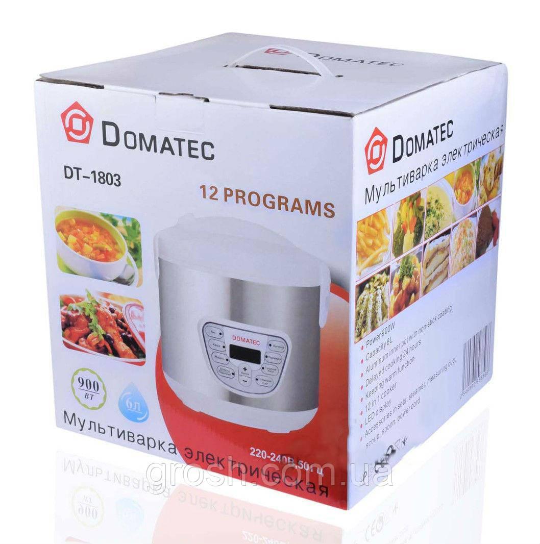 Мультиварка Domotec DT-1803