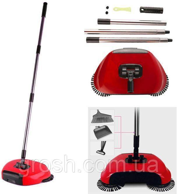 Швабра - веник для уборки Sweep drag all in one
