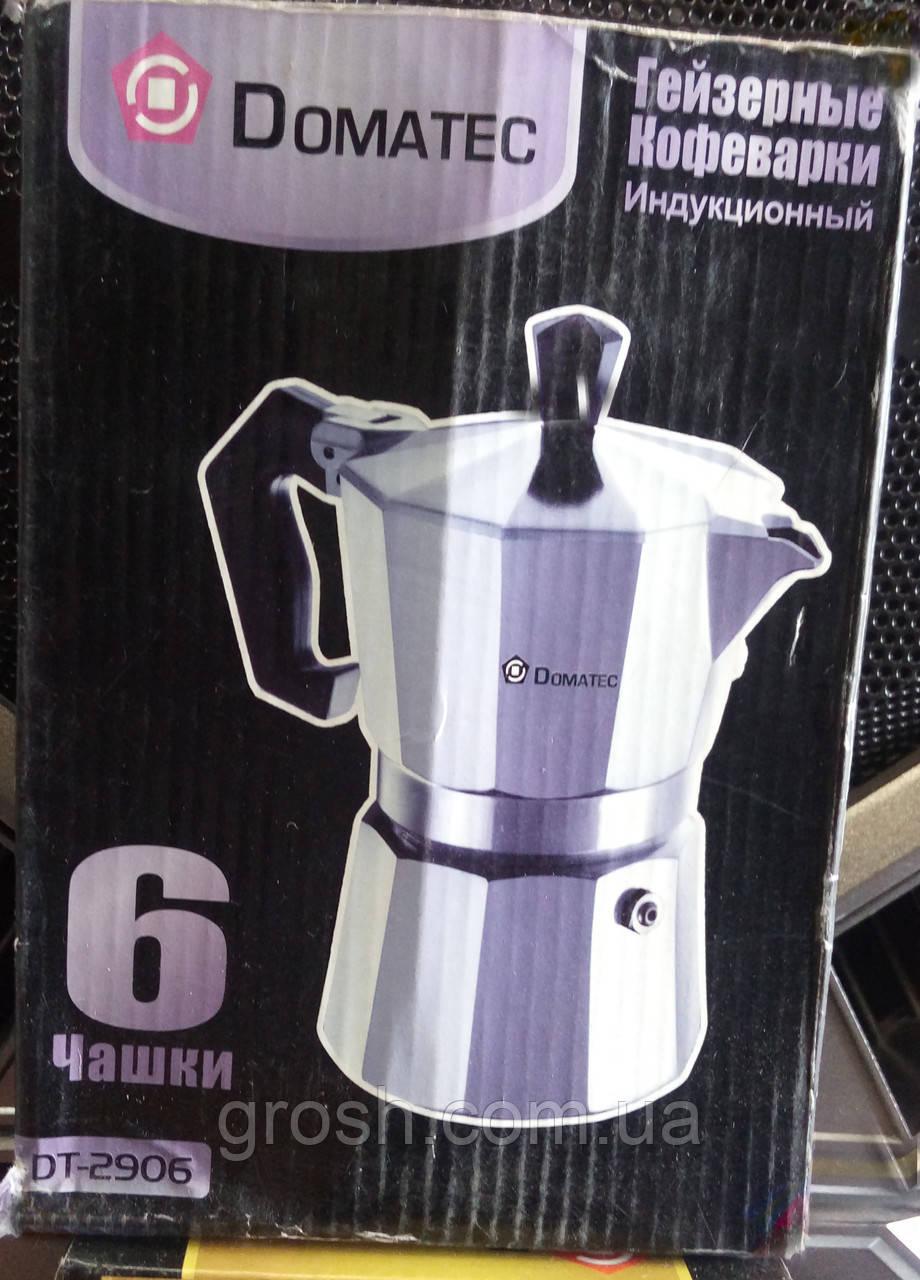 Гейзерная кофеварка DT-2906