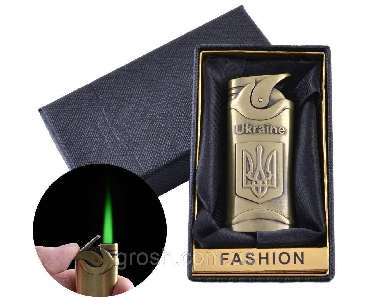 Зажигалка в подарочной упаковке, турбо пламя (№2)
