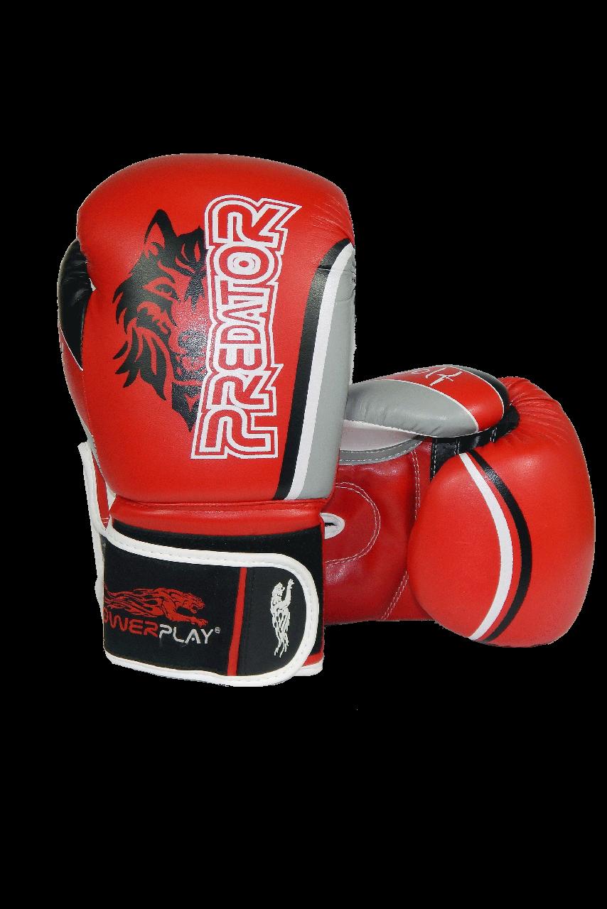 Боксерські рукавиці PowerPlay 3005 Червоні 10 унцій