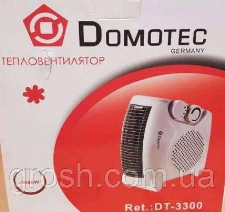 Тепловентилятор лежачий - стоячий DT-3300 2000 вт