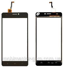 Тачскрин (сенсорный экран) для телефона OUKITEL C3, S-TELL M510 черный