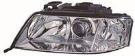 Фара левая Audi A6 (C5) 99-05.01 H7+H1 (DEPO). 441-1192L-LD-EM