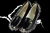 Женские классические кожаные туфли  mida 21358ч черные   весенние