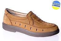 Мужские туфли комфорт floare 30857008 коричневые   летние