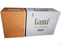 Гильзы для набивки сигарет  Gama 1000 шт