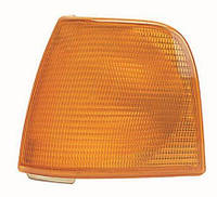 Покажчик повороту лівий Audi 100 -91 жовтий (DEPO). 441-1506L-UE