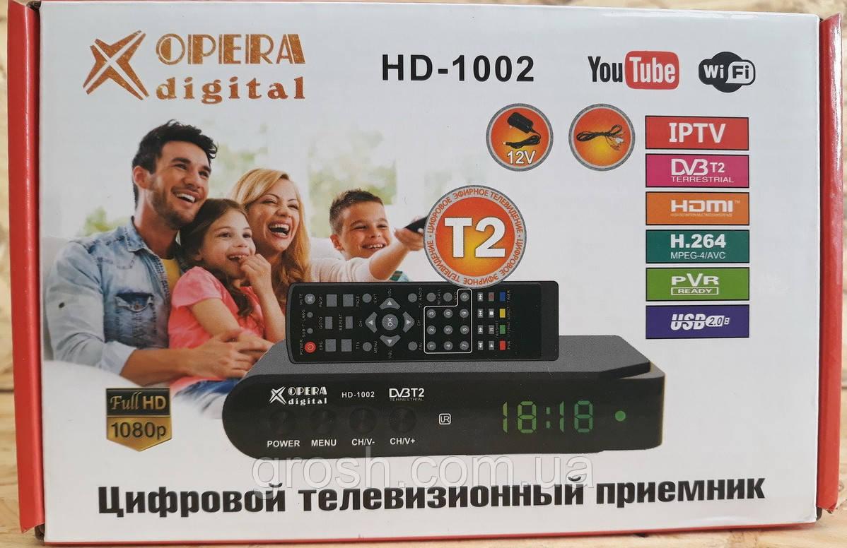 Цифровой телевизионный приемник HD-1002