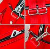 Рюкзак женский трансформер сумка Undress красный, фото 5
