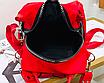 Рюкзак женский трансформер сумка Undress красный, фото 7