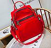 Рюкзак женский трансформер сумка Undress красный, фото 2