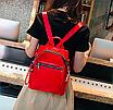 Рюкзак женский трансформер сумка Undress красный, фото 4